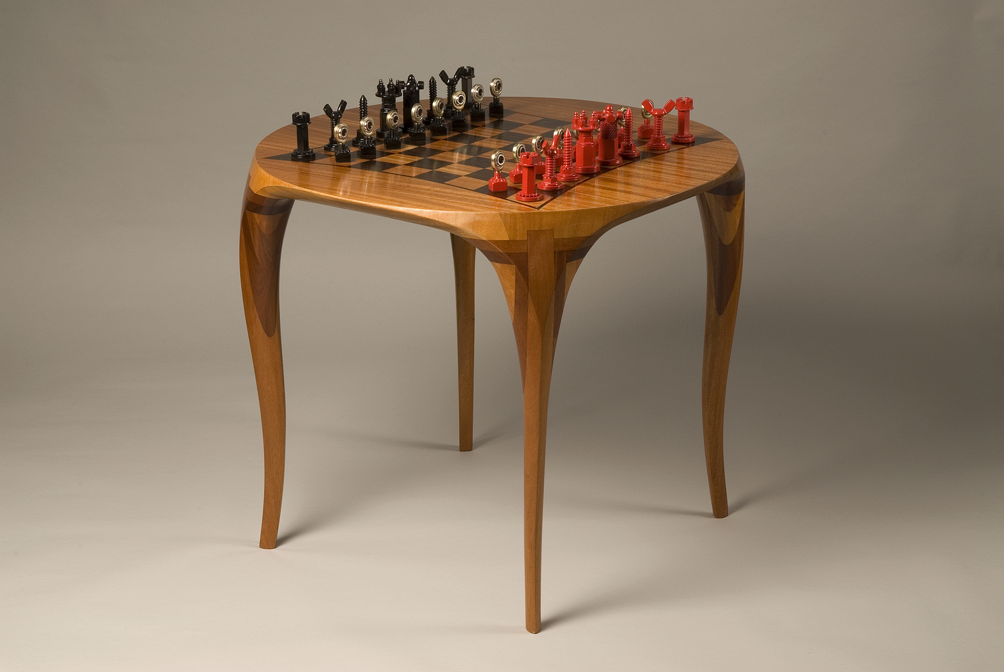 1000 images about chess on pinterest - Wooden chess tables ...